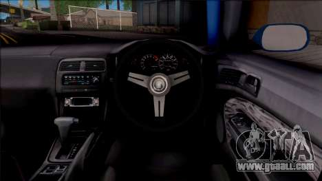Nissan 200SX Rocket Bunny v2 for GTA San Andreas inner view