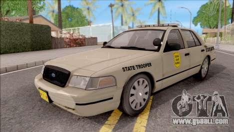 Ford Crown Victoria 2005 Iowa State Patrol for GTA San Andreas