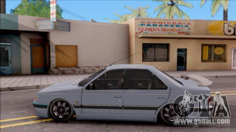 Peugeot Pars for GTA San Andreas left view