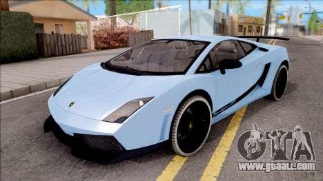 Lamborghini Gallardo Superleggera LP 570-4 for GTA San Andreas