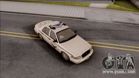 Ford Crown Victoria 2010 OS Highway Patrol for GTA San Andreas right view