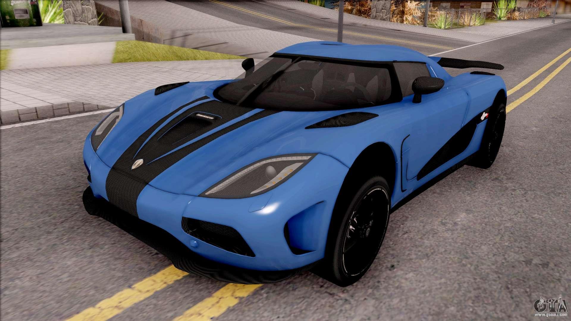 Koenigsegg One Interior >> Koenigsegg Agera R Origin for GTA San Andreas
