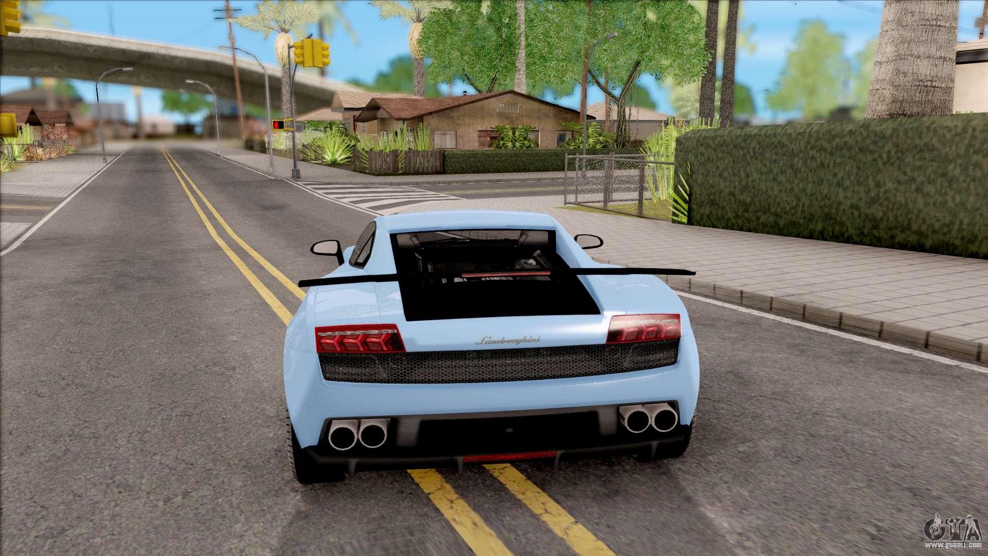 Lamborghini Gallardo Superleggera Lp 570 4 For Gta San Andreas
