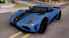 Koenigsegg Agera R Origin for GTA San Andreas