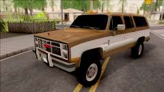 GMC Suburban 2500 1986 for GTA San Andreas