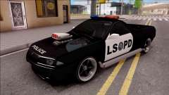 Nissan Skyline R32 Pickup Police LSPD for GTA San Andreas