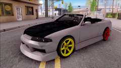 Nissan Skyline R33 Cabrio Drift Monster Energy for GTA San Andreas