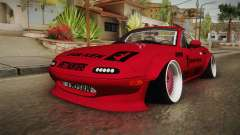 Mazda MX-5 Miata Cabrio Rocket Bunny 1989 for GTA San Andreas