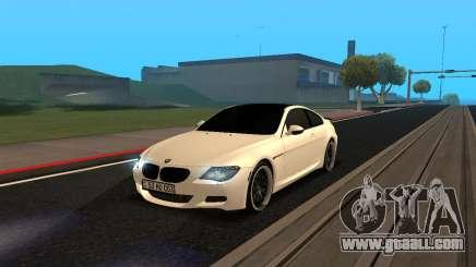 BMW M6 E63 Armenian for GTA San Andreas