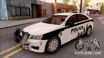 Chevrolet Caprice 2013 Los Santos PD v2 for GTA San Andreas