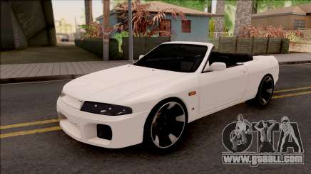 Nissan Skyline R33 Cabrio for GTA San Andreas