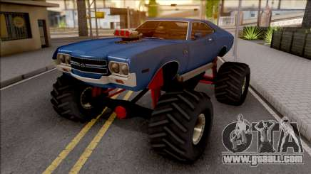 Chevrolet Chevelle SS 1972 Monster Truck for GTA San Andreas