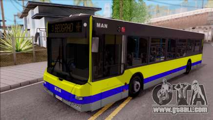 MAN Lions City GSP BEOGRAD for GTA San Andreas