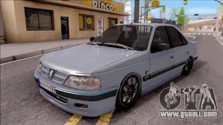 Peugeot Pars for GTA San Andreas