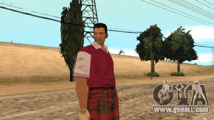 Tommy Vercetti Golf for GTA San Andreas