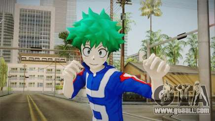 My Hero Academia - Izuku Midoriya v2 for GTA San Andreas