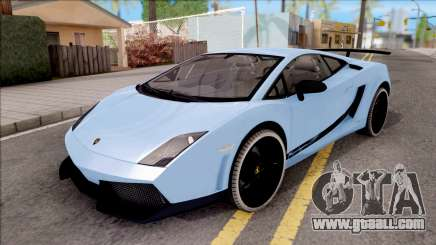 Lamborghini Gallardo Superleggera LP 570-4 for GTA San Andreas