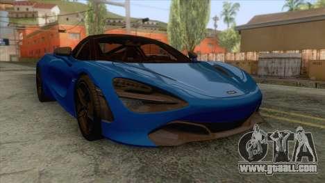 McLaren 720S 2017 v2 for GTA San Andreas