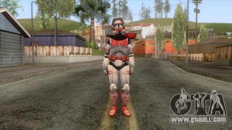 Star Wars JKA - Clone Shock Trooper Skin 2 for GTA San Andreas second screenshot