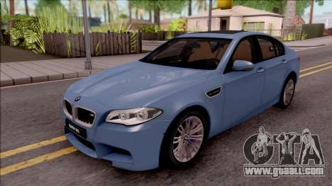 BMW M5 F10 Stock v1 for GTA San Andreas