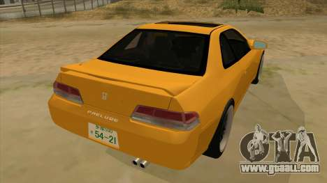 Honda Prelude for GTA San Andreas right view