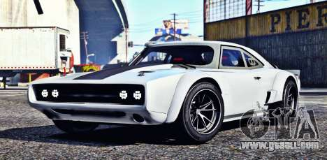 Dodge Charger Fast & Furious 8 for GTA 5