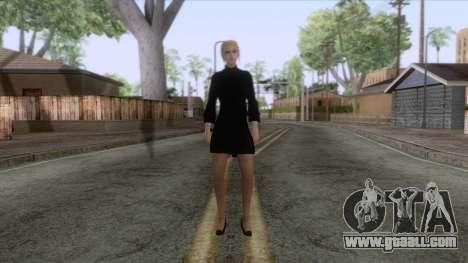 Female Sweater One Piece v3 for GTA San Andreas third screenshot