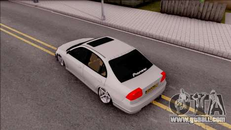 Honda Civic E.K MODS for GTA San Andreas back view