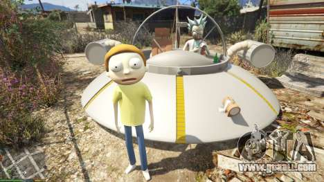 GTA 5 Morty Smith (Rick and Morty) [Add-On] 1.1