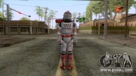 Star Wars JKA - Clone Shock Trooper Skin 2 for GTA San Andreas third screenshot