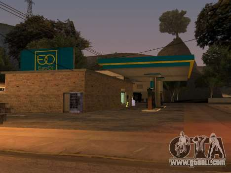 EuroOil Gas Station for GTA San Andreas
