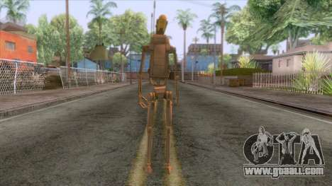 Star Wars - Droid Commander Skin for GTA San Andreas third screenshot