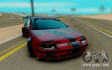 Volkswagen Golf IV for GTA San Andreas