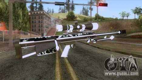 De Armas Cebras - Sniper Rifle for GTA San Andreas second screenshot
