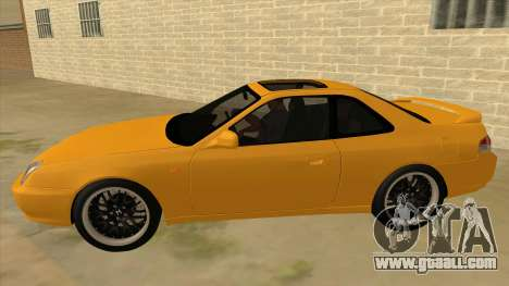 Honda Prelude for GTA San Andreas left view