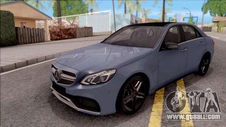 Mercedes-Benz E63 AMG v2 for GTA San Andreas