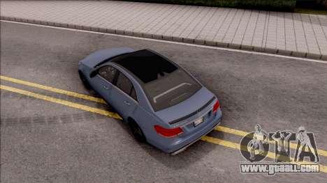 Mercedes-Benz E63 AMG v2 for GTA San Andreas back view