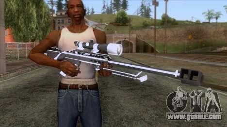 De Armas Cebras - Sniper Rifle for GTA San Andreas third screenshot