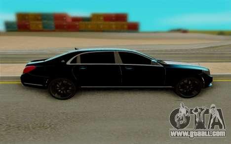 Maybach S400 for GTA San Andreas left view