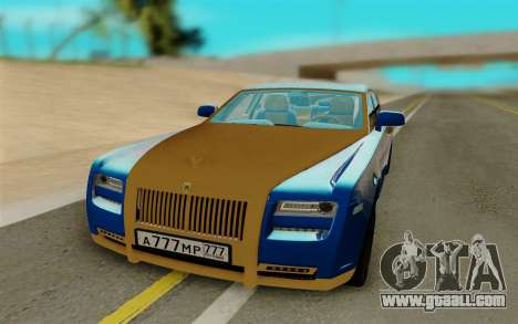 Rolls Roys Ghost for GTA San Andreas
