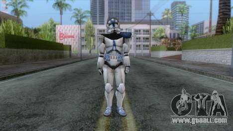 Star Wars JKA - 501st Legion Skin v3 for GTA San Andreas second screenshot