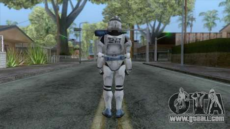 Star Wars JKA - 501st Legion Skin v3 for GTA San Andreas third screenshot