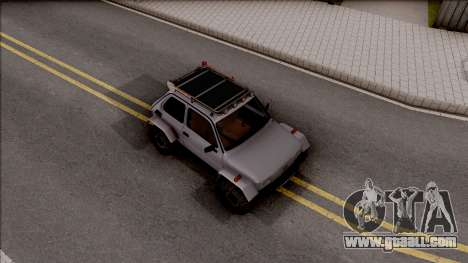 Fiat 126p Buggy for GTA San Andreas right view