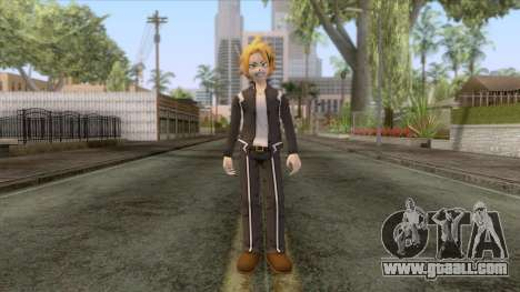 My Hero Academia - Denki Kaminari Suit Hero v1 for GTA San Andreas second screenshot