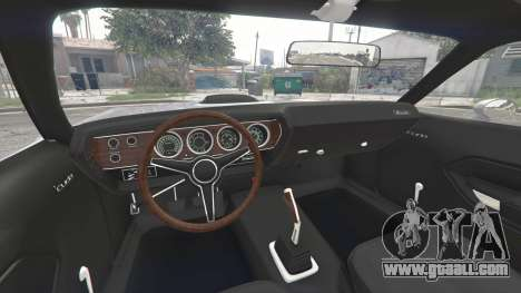 GTA 5 Playmouth Hemi Cuda (BS) 1971 [replace] rear right side view