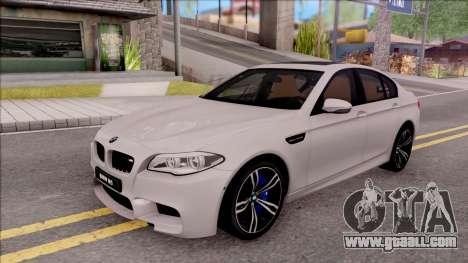 BMW M5 F10 Stock v2 for GTA San Andreas