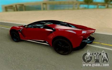 W Motors Fenyr SuperSport for GTA San Andreas right view