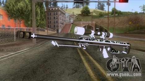 De Armas Cebras - Sniper Rifle for GTA San Andreas