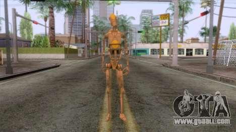 Star Wars - Droid Commander Skin for GTA San Andreas second screenshot