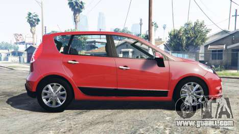 GTA 5 Renault Scenic (JZ) 2009 [replace] left side view